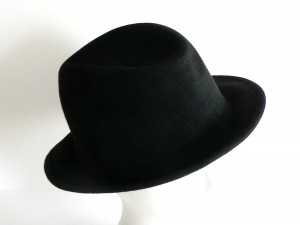 Black Fedora Hats for Men