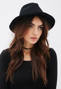 Black Fedora Hats for Women