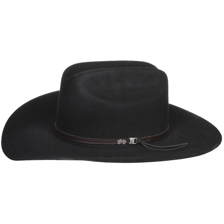 Black Cowboy Hats Tag Hats