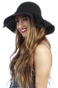 Black Floppy Hat Picture