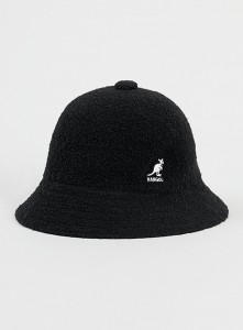 Black Kangol Bucket Hat