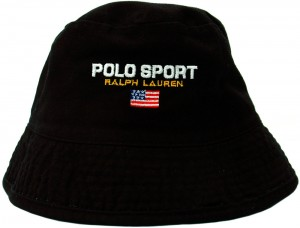 Black Polo Bucket Hat