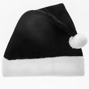 Black Santa Hat Image