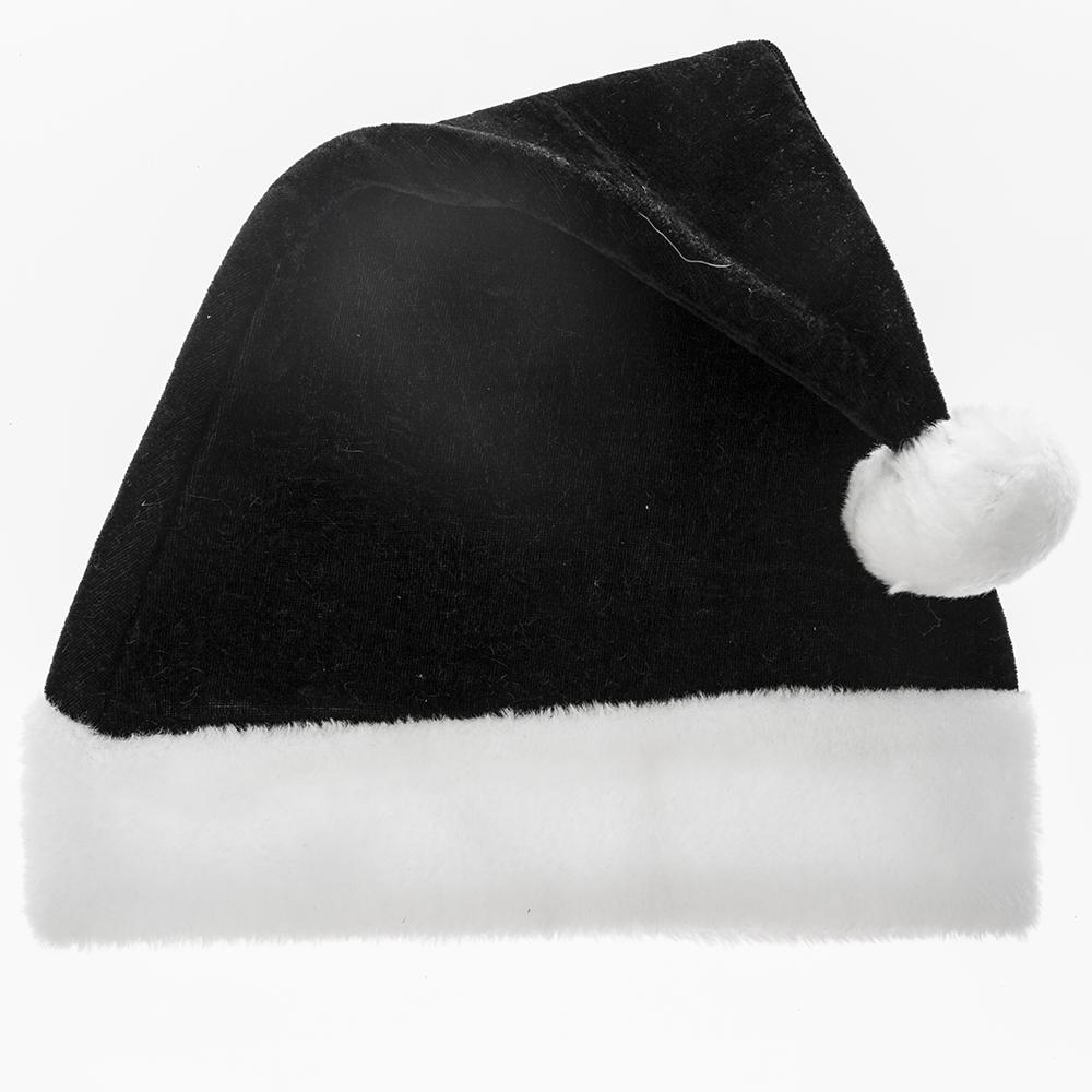 Black santa hats tag