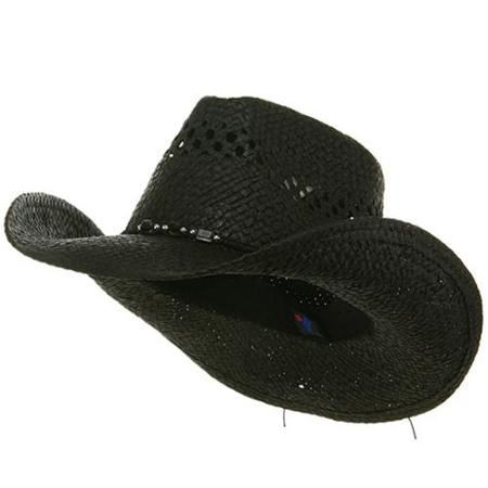 Black Cowboy Hats Tag Hats