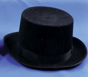 Black Top Hat Image