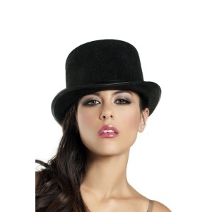 Black Top Hat for Women