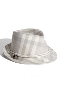 Burberry Fedora Hat