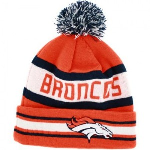 Denver Broncos Knit Hat