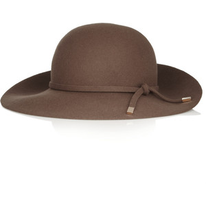Felt Wide Brim Hat