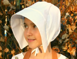 Girls Pilgrim Hat