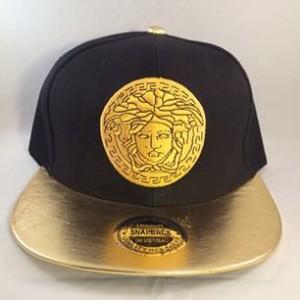 Gold Versace Hat