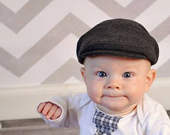 Newsboy hat for baby, white denim newsboy cap, white hat for toddler, white cap for kids, white Christening hat for boy baby -made to order DakkoBabySC. 5 out of 5 stars (1,) $ Favorite Add to See similar items + More like.