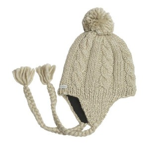 Knit Hat with Ear Flaps