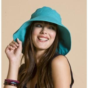 Ladies Wide Brim Hats