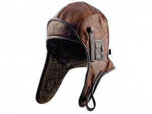 Leather Pilot Hat
