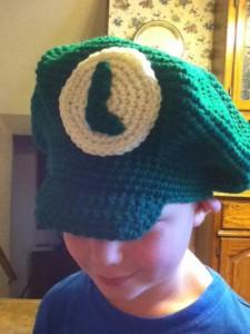Luigi Hat Crochet Pattern