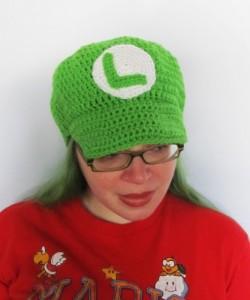 Luigi Hat Pattern