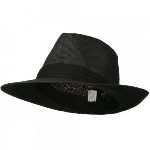 Mens Black Fedora Hat