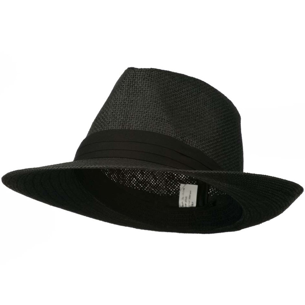 "In the 's when men were men and women were dames, the ""Panama"" Fedora was the gentleman's hat of choice in sultry climes and classic films. It remains the most popular style today. There are many style variations that are all called Fedoras."