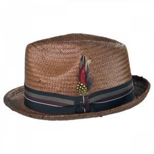 Mens Fedora Straw Hat