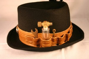 Mens Steampunk Hat