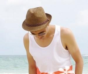 Mens Straw Beach Hats