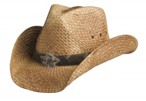 Mens Straw Cowboy Hats