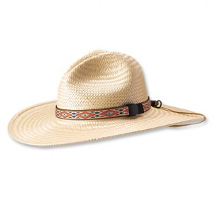 Mens Straw Fishing Hats