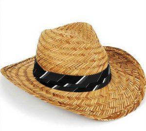Mens Straw Sun Hat