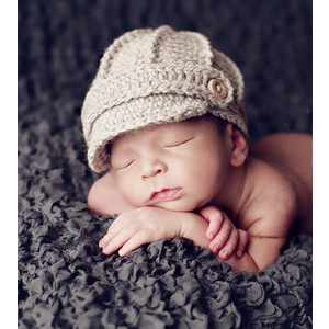 Newborn Newsboy Hat
