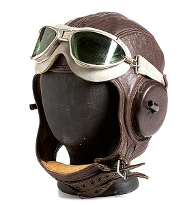 Pilot Hat with Goggles