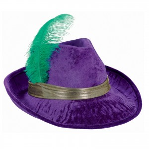 Pimp Hat with Feather