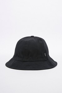 Plain Black Bucket Hat