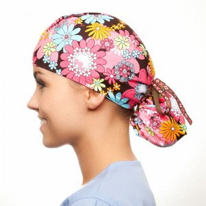 Ponytail Scrub Hat