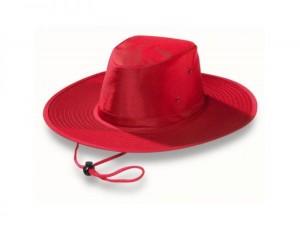 Red Wide Brim Hat