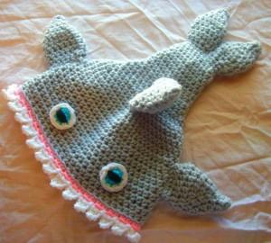Shark Hat Crochet