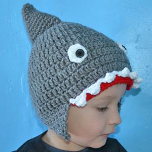Shark Winter Hat