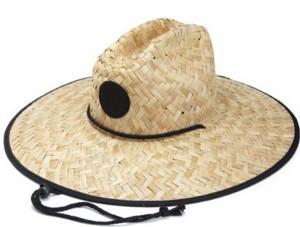 Straw Campaign Hat