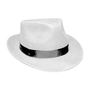 White Pimp Hat