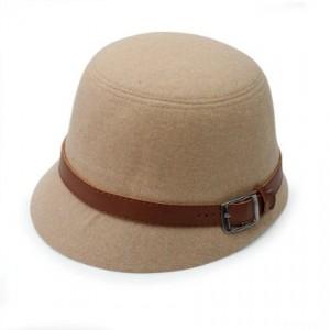 Wide Brim Bowler Hat