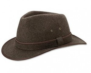 Wide Brim Hat Men