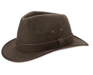 Wide Brim Hat Men