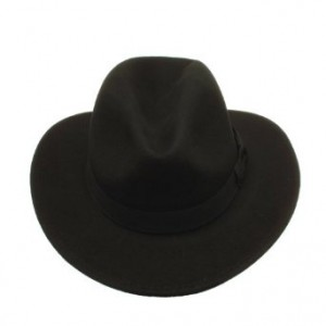 Wide Brimmed Fedora Hat