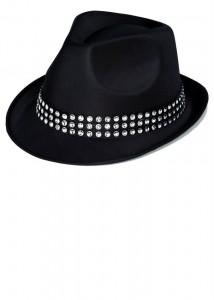 Womens Black Fedora Hat