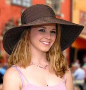 Womens Wide Brim Hats