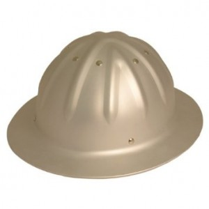 Aluminum Full Brim Hard Hat