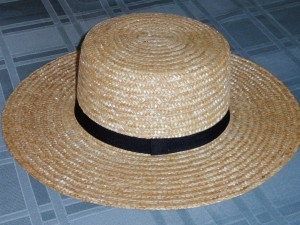 Amish Straw Hat Mens Fashion
