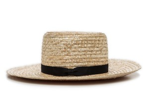 Amish Straw Hat Photo