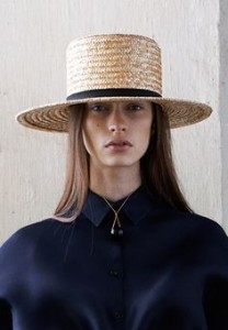 Amish Straw Hat Pictures